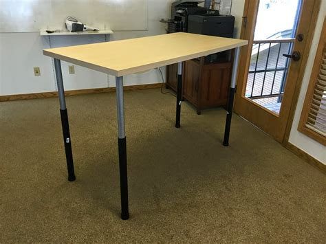build a standing desk home depot daniel at work cheaper and easier ikea based standing desk