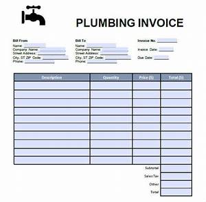7 plumbing invoice free sample example format download for Plumbing invoice pdf