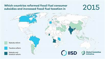 Fossil Fuel Reform Ways Map Consumer Subsidy