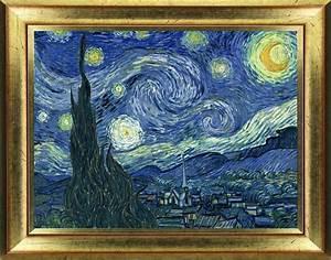 Sticker tableau Van Gogh Nuit Étoilée stickers Art et Design Artistiques ambiance sticker