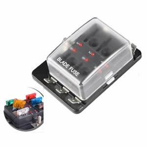 Mini Blade Fuse Holder Box : new automotive mini blade fuse holder box 6 circuit fuse ~ A.2002-acura-tl-radio.info Haus und Dekorationen