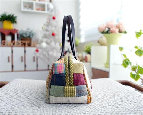 schoene tasche aus stoffresten naehen dekoking