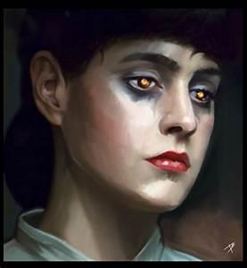Blade Runner - RACHEL by BASSHOLE   Painting/illustration ...