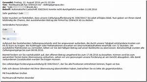 Offene Rechnung Von Directpay : offene rechnung per mail auch weiterhin im umlauf mimikama ~ Themetempest.com Abrechnung