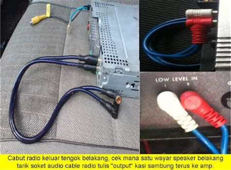 fire starting automobil diy pasang head unit dan power
