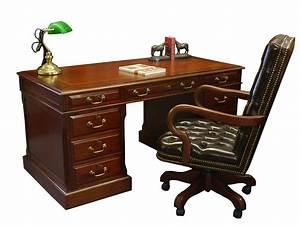 Schreibtisch Und Stuhl : schreibtisch computertisch mahagoni globe wernicke mit leder wie antik 1958 regale ~ Markanthonyermac.com Haus und Dekorationen