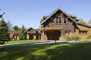 Rustic, House, Design, In, Western, Style, -, Ontario, Residence