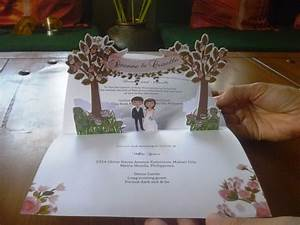 pop up garden themed wedding invitation visit www With pop up wedding invitations uk