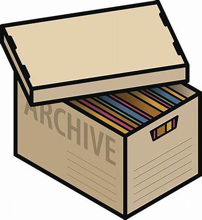 Archive Box Vector Clip Document Documents Filing