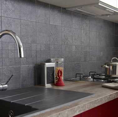 poser carrelage mural cuisine carrelage mural couleur gris anthracite leroy merlin