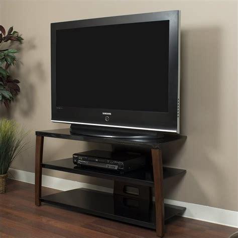 wide plasmalcd tv stand  walnut finish xiiw