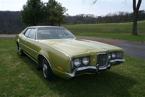 vehicle mileage form sell used 1972 mercury montego mx brougham in danville