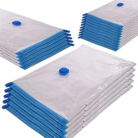 housse rangement vetement sous vide lot de 40 housses sacs de rangement sous vide par aspiration 3 tailles diff 233 rentes achat