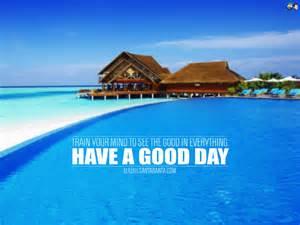 Have a Good Day Beach