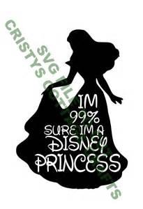 Disney Princess SVG Cut Files