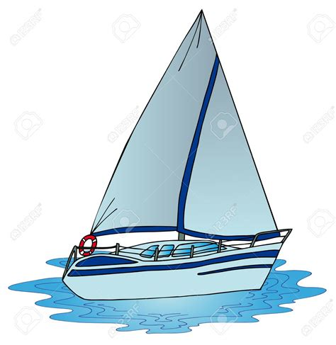 Sailboat On Water by Sailing Clipart Water Boat Pencil And In Color Sailing