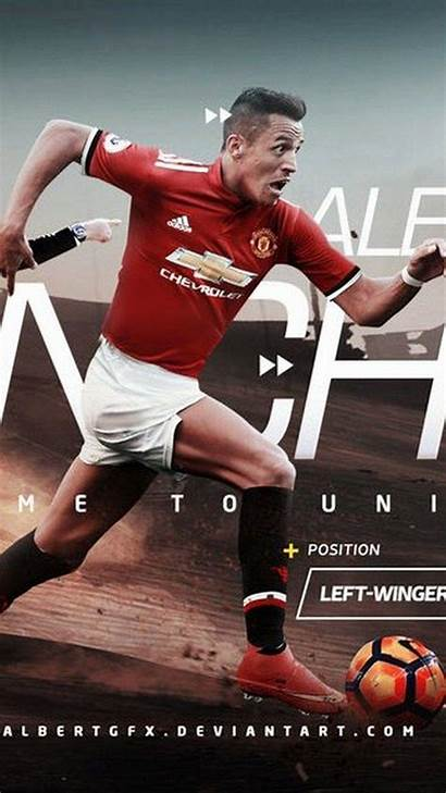Sanchez Alexis Manchester United Wallpapers Iphone Mu