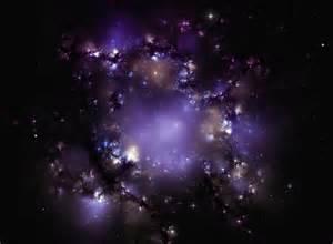 Outer Space Nebula Purple Galaxy