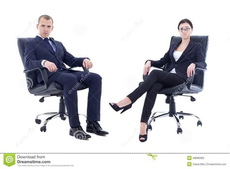 Young Man Sitting On Chair Smiling  Male Models Picture