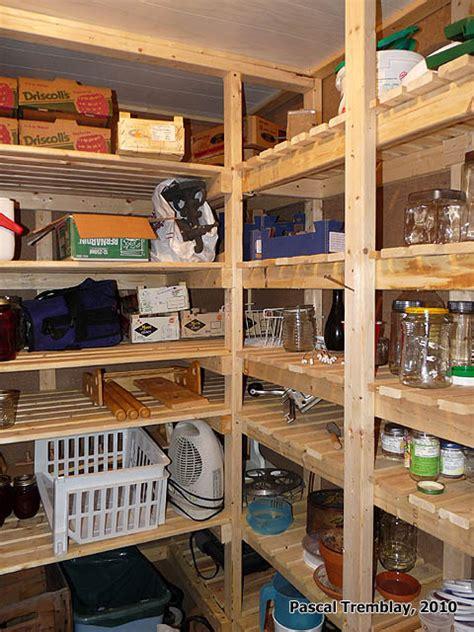 les chambre froide chambre froide au sous sol plan rangement pour les conserves