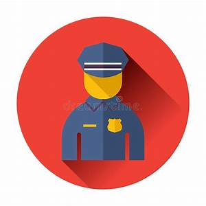 Police Officer Icon Stock Vector - Image: 47097175