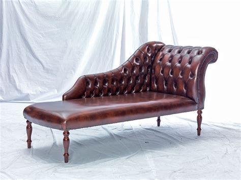 leather reproduction chaise longue leather sofas and chairs