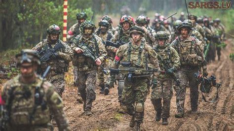 Latvijas karavīri un zemessargi piedalās Lietuvas organizē ...