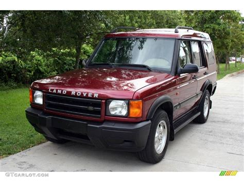 red land rover old 2000 rutland red land rover discovery ii 16841540