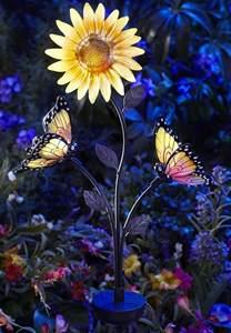 Solar Garden Butterfly Lights