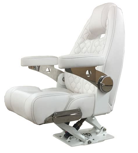 Lebroc Boat Chairs by Shockwave S5 Suspension Pedestal