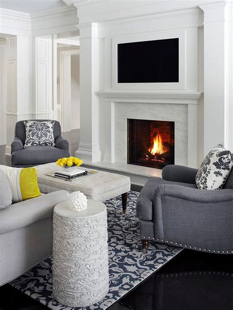 TVs Over Fireplaces   Better Homes & Gardens