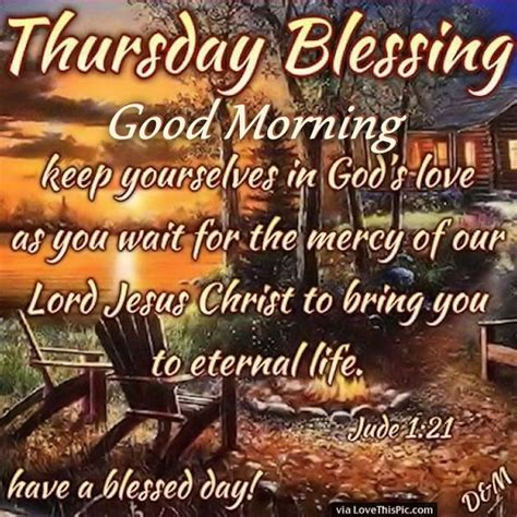 thursday blessings good morning    gods love