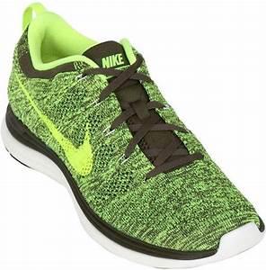 Nike Flyknit Running Sneakers in Green for Men LIME