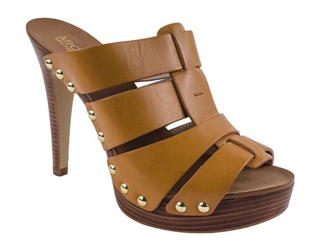 Michael Kors Women's Somerly High Heel Mule Sandals Shoes