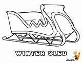Sled sketch template
