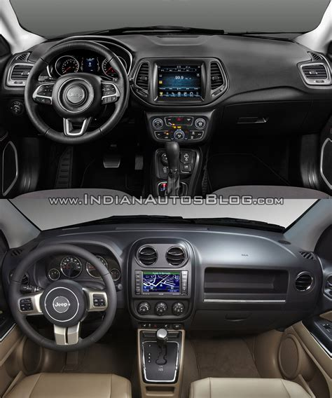 jeep compass 2016 interior 2017 jeep compass vs 2011 jeep compass interior indian