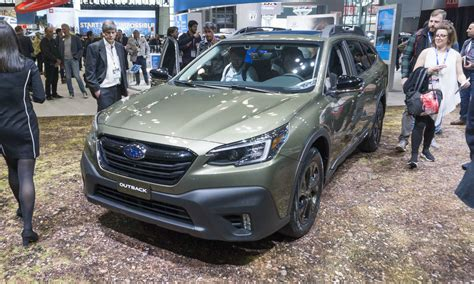 Subaru Outback 2020 New York by 2019 New York Auto Show 2020 Subaru Outback Our Auto Expert