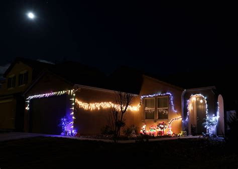 no pc here christmas lights are up in reno