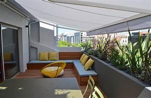 une mini terrasse a marseille With amenagement terrasse exterieure appartement 6 patio marseille un patio plus contemporain decoration