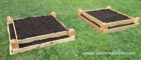 building raised bed garden how to make a diy raised garden bed