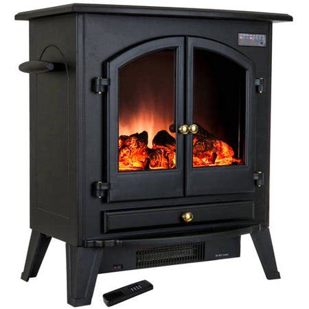 electric fireplace heater walmart akdy fp0032 25 quot 1500w freestanding electric fireplace