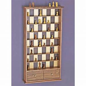 Vertical Chessboard Woodworking Plan from WOOD Magazine
