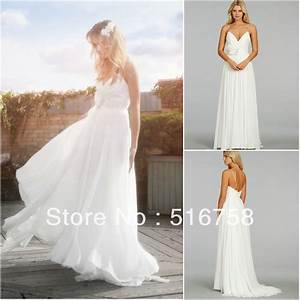 white flowy beach wedding dresses dress blog edin With white flowy wedding dress