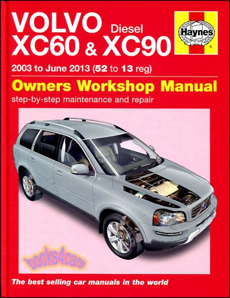 free online auto service manuals 2009 volvo xc90 instrument cluster volvo xc60 xc90 shop manual service repair book haynes chilton workshop awd ebay