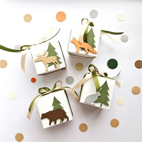 Find a great selection of exceptional gifts everyone will love for all occasions. Woodland Favor Boxes Woodland Animals Baby Shower Gift ...