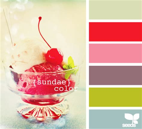 color inspiration boards via design seeds at home with natalie