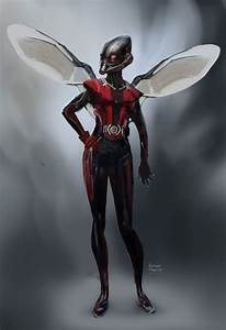 Antman Concept art - Wasp by Ubermonster.deviantart.com on ...