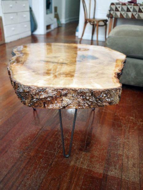 edge maple  epoxy table wood slab table wood