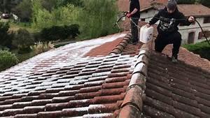 Nettoyage Toiture Karcher : nettoyage toiture anti mousse youtube ~ Dallasstarsshop.com Idées de Décoration