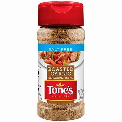 Salt Seasoning Garlic Blend Roasted Tones Tone